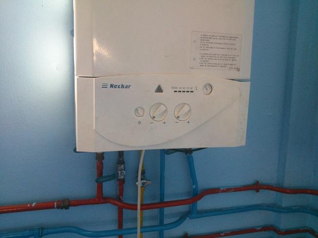 Renove caldera gas RITE