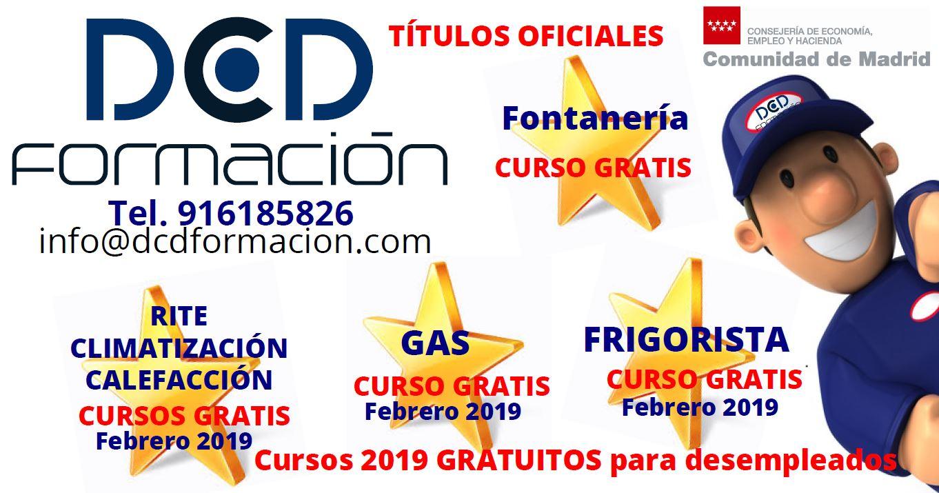 Cursos Gratuitos Para Desempleados En Dcd Formacion Para 2019 Dcdformacion