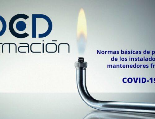 Normas básicas de prevención frente a COVID-19 (coronavirus) para instaladores y/o mantenedores.